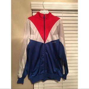 Vintage adidas trefoil track jacket